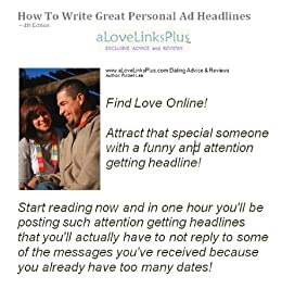 How to write a great personal ad