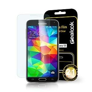 Samsung Galaxy S2 / SII int'l unlocked version (Model# GT-i9100) Screen Protector, REALOOK screen protector for Samsung Galaxy S2 / SII int'l unlocked version (Model# GT-i9100) Crystal Clear 2-PK