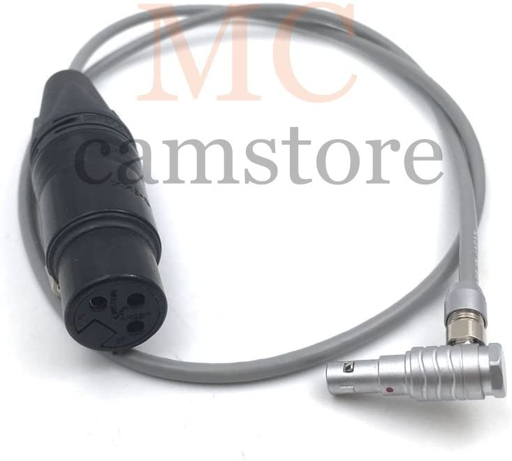 00B 5pin to XLR 3pin Female Audio Cable 24inch MCCAMSTORE Alexa Mini Audio Cable