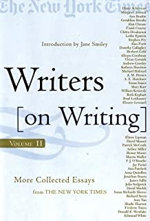 com writers on writing collected essays from the new york  writers on writing volume ii more collected essays from the new york times
