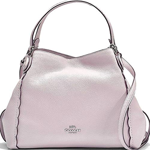 COACH Women's Edie 31 Shoulder Bag with Prairie Rivets Sv/Ice Pink One Size