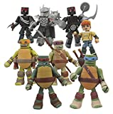 DIAMOND SELECT TOYS Teenage Mutant Ninja Turtles Nickelodeon Minimates 2