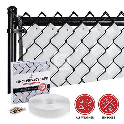 Fenpro Chain Link Fence Privacy Tape (Arctic (Chain Link Fence Privacy)