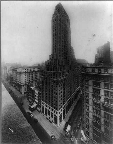 Photo: French Building,5th Avenue & 45th Street,New York City,NYC,New - Stores Map 5th Avenue