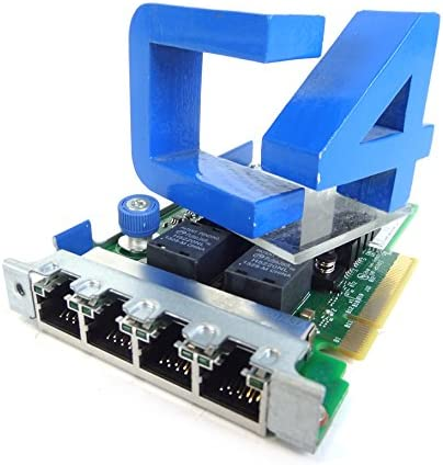 4-Port 1GB HP 665238-001 HP Ethernet 366FLR Adapter