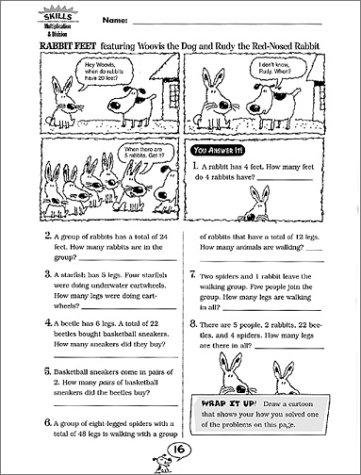 Workbook elementary art worksheets : Amazon.com: Comic-Strip Math: 40 Reproducible Cartoons with Dozens ...