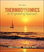 Thermodynamics: An Engineering Approach (Mcgraw-hill Series in Mechanical Engineering)