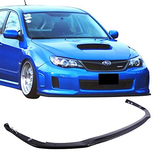 For 11-14 Subaru Impreza WRX & STI Polypropylene V-Limited Front Lip Splitter (Subaru Impreza Wagon Sti)