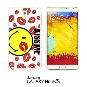 OnlineBestDigitalTM - Funny Pattern Hardback Case for Samsung Galaxy Note 3 N9000 - Kiss Me