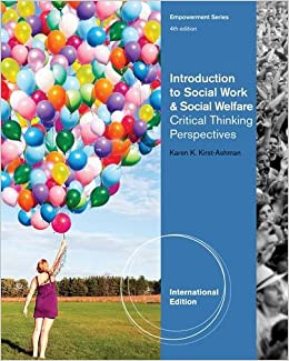 Book Introduction to Social Work and Social Welfare Critical Thinking Perspectives