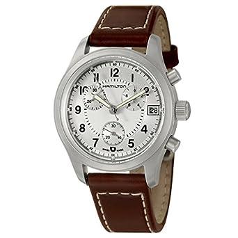 daa9791e4 Hamilton Khaki Chrono Men's Quartz Watch H68582553: Amazon.co.uk: Watches
