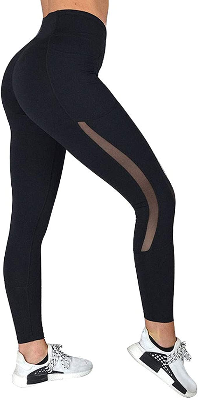 Amazon.com: PlayMate Leggings pantalones de yoga con ...