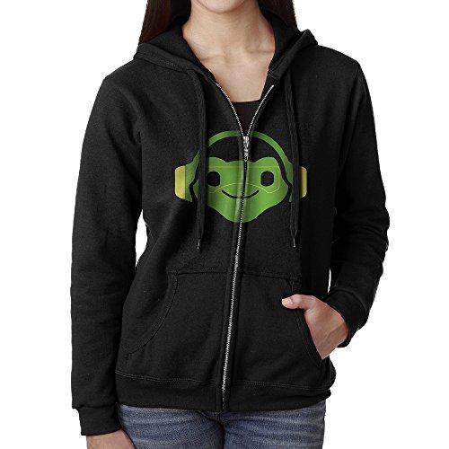 KJhsfub Casual Womens Lucio Overwatch Video Game Full-Zip Sweatshirt Hoodie Jacket Medium (Overwatch Game Of The Year Edition Upgrade)