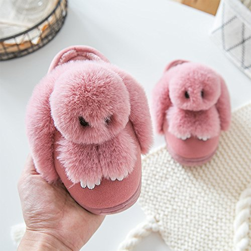 Chaussons Bebe Fuyingda Filles Chaud Hiver Bambin Coton Chaussures Animal Peluche Rose Pantoufles Style Hiver amp; Lapin Femmes Femmes Confortable Pantoufles ptrnqt4xwI