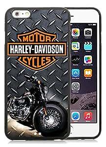 Harley Davidson (2) Black iPhone 6 Plus 5.5 inch Screen TPU Phone Case Handmade and Newest Design
