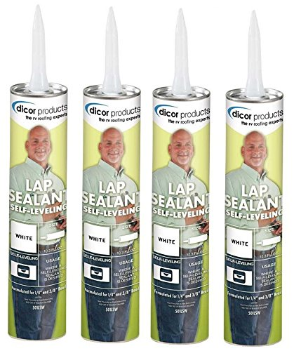 (Dicor 501LSW-1 Self-Leveling Lap Sealant, 4 Pack)