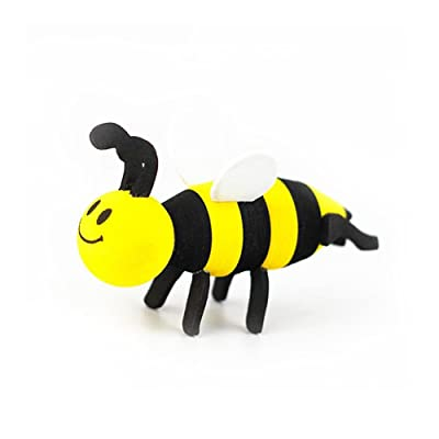 COGEEK Car Antenna Decoration Cute Cartoon Foam Antenna Balls (Bee): Automotive