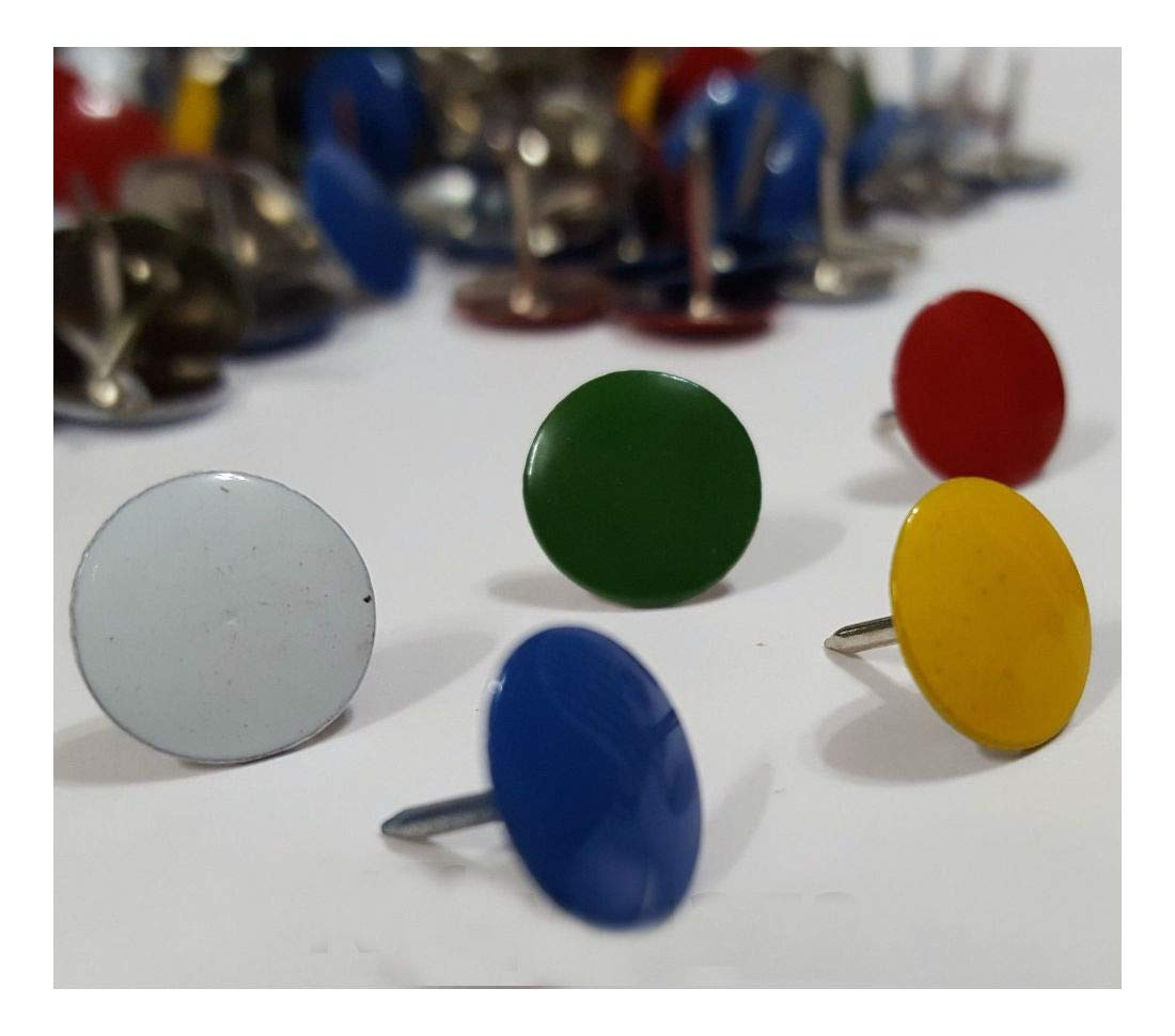 400 Assorted Color Push Pin Thumb Tacks Multi Color Head Office Home by Unknown (Image #3)