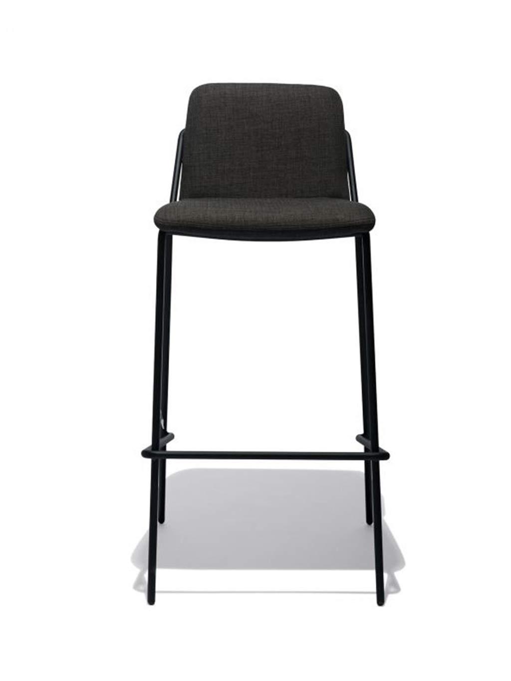 Amazon.com: BARSTOOLRI Barstool, Metal Nordic Loft Style ...