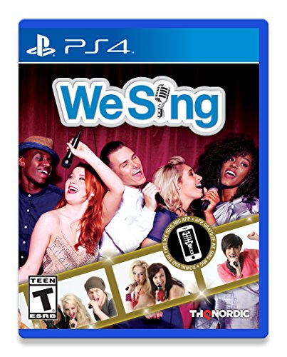 We Sing PS4 PlayStation 4 Solus