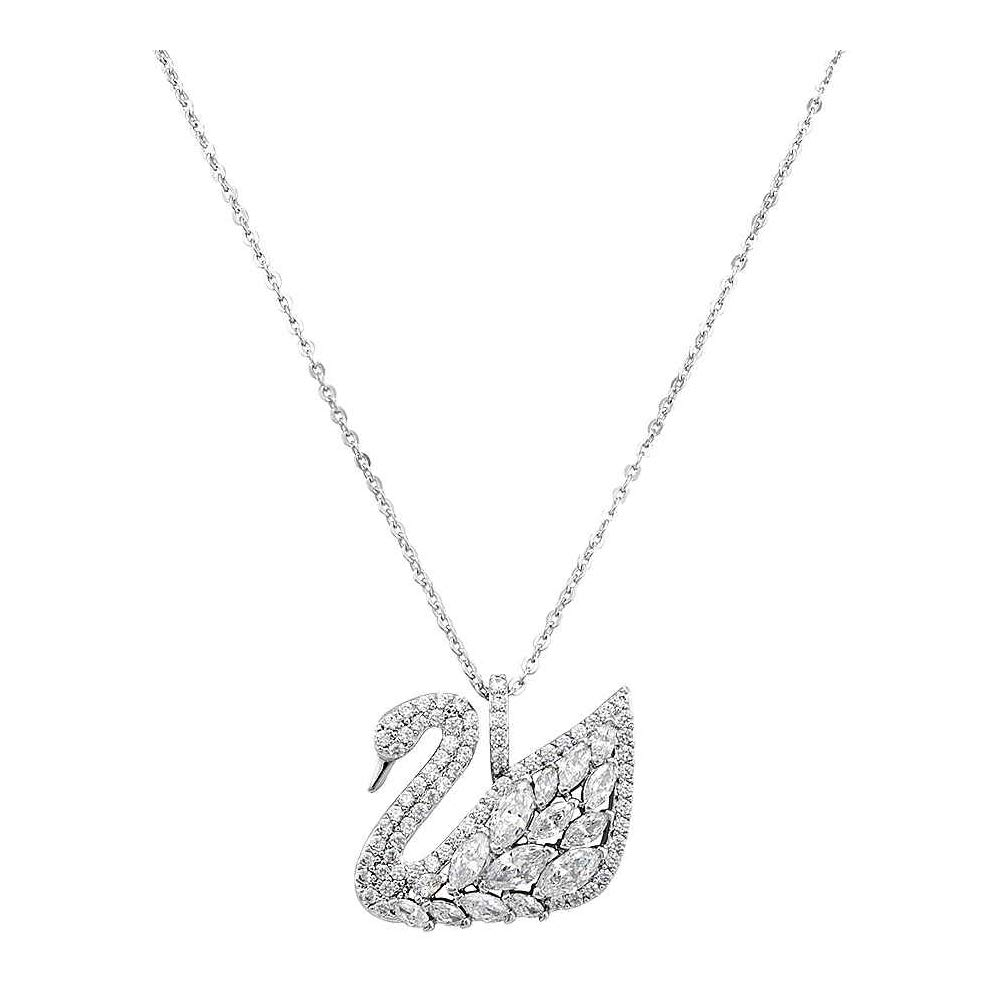 7b386e62e31b Amazon.com  Swarovski Swan Lake Pendant 5169080  Jewelry