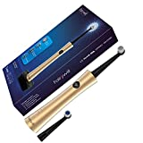 Rotary Electric toothbrush for adults, 3 Cleaning Modes Remove 100% more plaque, Whitening Teeth in 14 Days, Rechargeable Toothbrush by Fairywill Model 2205 Gold