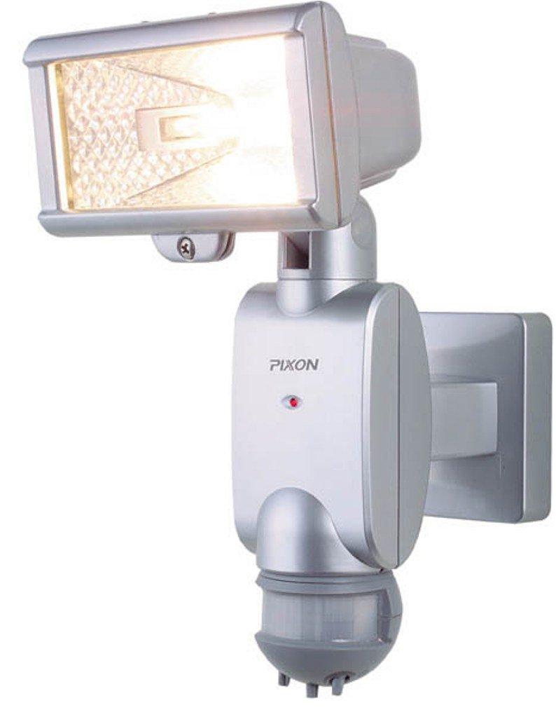 ムサシ PIXON 防雨センサーライト 「探知角度180度」 ハロゲン150W PA-515 B000O1PAU0 10362