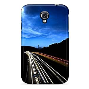 Galaxy High Quality Tpu Case/ Traffic Lapse VkSBMAw7397vyTJD Case Cover For Galaxy S4