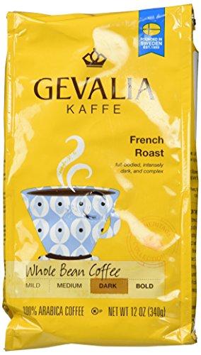 Gevalia Kaffe French Roast Whole Bean Dark Coffee