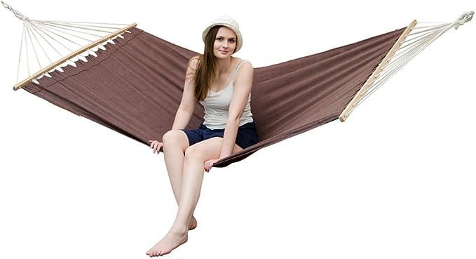 Amazonas Hamac XXL tuchhängematte à 200 kg Arte bleu rouge sable au choix