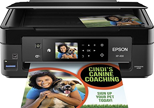 Epson - Expression Home XP-430 Small-in-One Wireless All-In-One Printer
