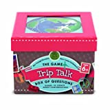 Melissa & Doug Trip Talk Box of Questions Travel Game - 45 Conversation Starters, 25 Quiz Cards