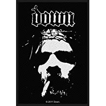 Down Band Logo Patch Vocalist Phil Anselmo Heavy Metal Woven Sew On Applique