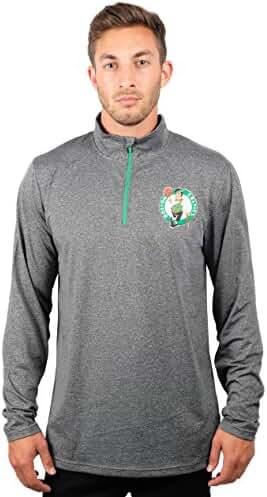 88e1ac2a2f335a UNK NBA Men s Quarter Zip Pullover Shirt Athletic Quick Dry Tee
