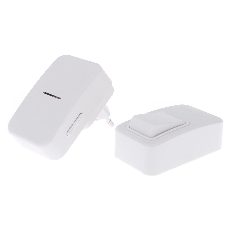 Campanello Universale Wireless Senza Fili WIFI a Pile Batteria Esterno Porta