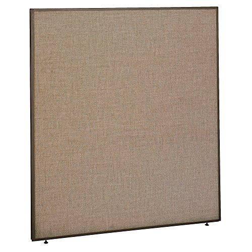 Office Furniture Dividers - Bush Business Furniture ProPanels - 66H x 60W Panel in Harvest Tan