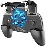 Control Gamepad con Ventilador, Juegos Control con 4000amh Bateria, Disfrutar de la carga cuando juega el juego Para Android