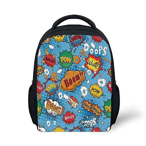 Superhero Stylish Backpack,Famous Comic Strip Speech for sale  Delivered anywhere in Canada