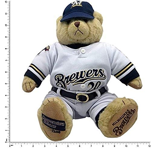 American Needle Milwaukee Brewers Cooperstown Collection Jeromy Burnitz #20 Plush 12