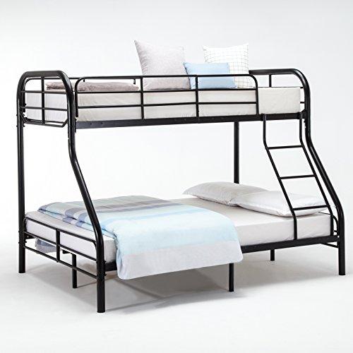 Queen Size Linen Upholstered Platform Metal Bed Frame Furnit
