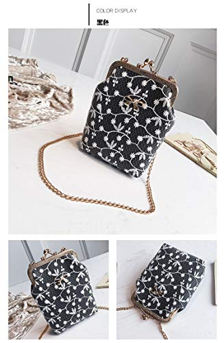 Crossbody For Purse Pu Women Cvthfyky Leather GirlscoloreneroNero Small Handbag qcARS354Lj