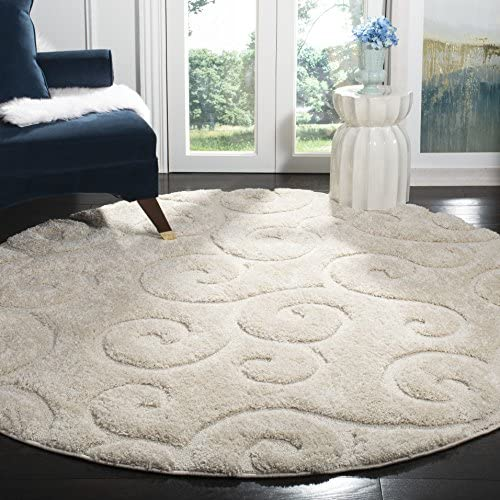 Safavieh Memphis Shag Collection SG837A 1.18-inch Thick Area Rug
