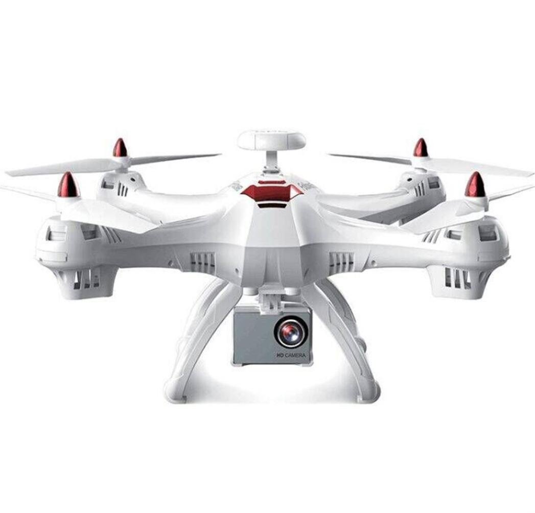 Gbell X183S 5G Drone with 1080P HD Camera WiFi FPV 6-Axis Gyro GPS Drone LED Follow Me - Large RC Quadcopter - Best Birthday New Year Gifts for Boys Girls Kids Adults,Black White (White)