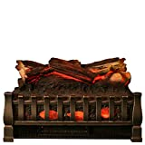 fireplace stand alone - MagikFlame HoloFlame Logs Set For Use With MagikFlame 28
