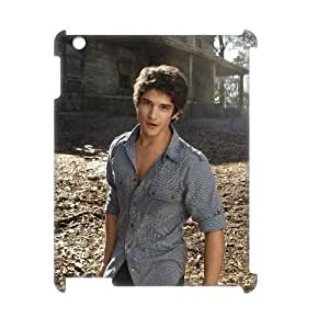 J-LV-F Teen Wolf Pattern 3D Case for iPad 2,3,4