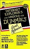 Internet Explorer 5 for Windows, Greg Harvey, 0764504568