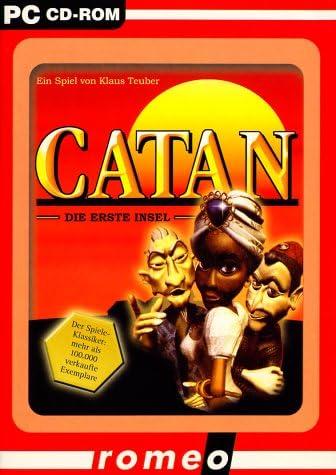 catan-die erste insel edutainment: romeo: catan-die erste insel: Amazon.es: Videojuegos