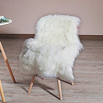 Amazon Com Ikea 302 290 77 Tejn Faux Sheepskin Ivory
