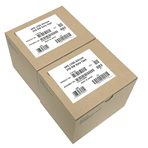 10 Pack HPE LTO-5 C7975A Ultrium-5 Data Tape Cartridge (1.5TB/3TB) by Hpe