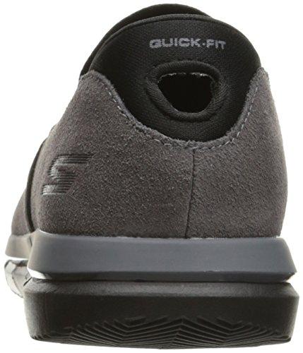 Skechers Performance Shoe Men's Flex Anthracite Noir Walking Go Comrade qqr7dO